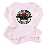 USS FORT SNELLING Toddler Pink Pajamas