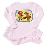 Chess Kids Toddler Pink Pajamas
