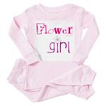 Flowergirl Toddler Pink Pajamas