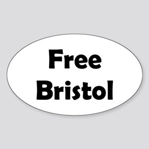 Free Bristol Oval Sticker