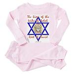 Lion Of The Tribe Of Judah Toddler Pink Pajamas