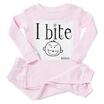 iBite Toddler Pink Pajamas