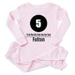 5 Fulton (Classic) Toddler Pink Pajamas
