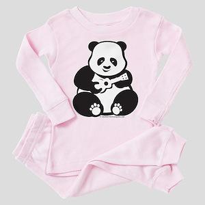 Ukulele Panda Solo Lt Toddler Pink Pajamas