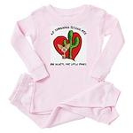 AZ Chihuahua Rescue Toddler Pink Pajamas