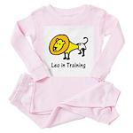 Leo in Training (Toddler Pink Pajamas)
