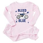 Bleed Blue Toddler Pink Pajamas