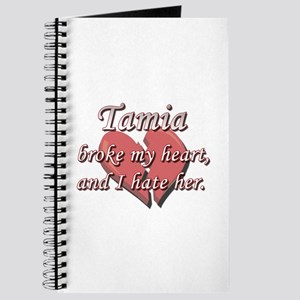 Tamia broke my heart and I hate her Journal