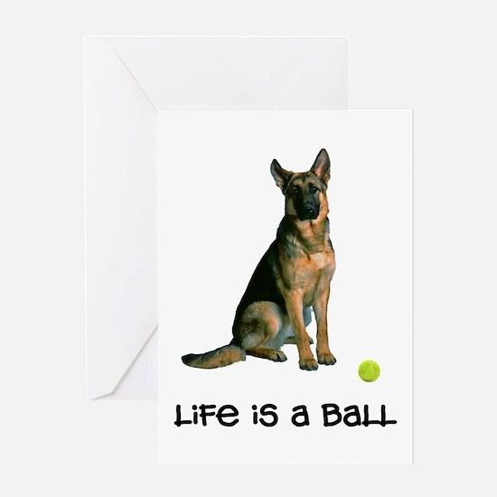 German Shepherd Life Greeting Card
