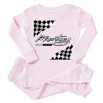 MustangFlags Toddler Pink Pajamas