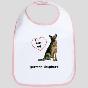 German Shepherd Lover Bib