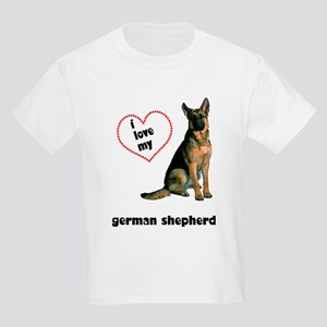 German Shepherd Lover Kids Light T-Shirt