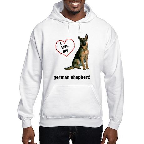 German Shepherd Lover Hooded Sweatshirt
