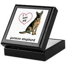 German Shepherd Lover Keepsake Box