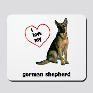 German Shepherd Lover Mousepad