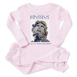 Odysseus Is My Homer-Boy Toddler Pink Pajamas