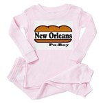 Poboy Toddler Pink Pajamas