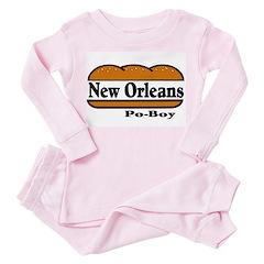 Poboy Toddler Pink Pajamas