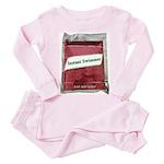 Instant Swimmer Toddler Pink Pajamas