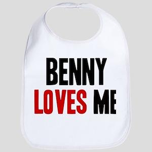 Benny loves me Bib