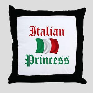 Italian Princess 2 Throw Pillow