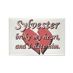 Sylvester broke my heart and I hate him Rectangle
