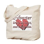 Sylvester broke my heart and I hate him Tote Bag
