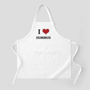 I Love Hummus BBQ Apron