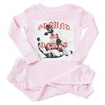 Ground And Pound Toddler Pink Pajamas