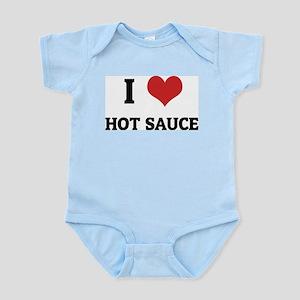 I Love Hot Sauce Infant Creeper