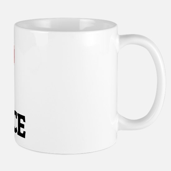 I Love Hot Sauce Mug