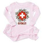 Gruezi Toddler Pink Pajamas