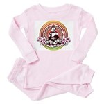 Buddha Toddler Pink Pajamas