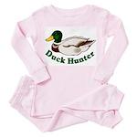 Duck Hunter Toddler Pink Pajamas