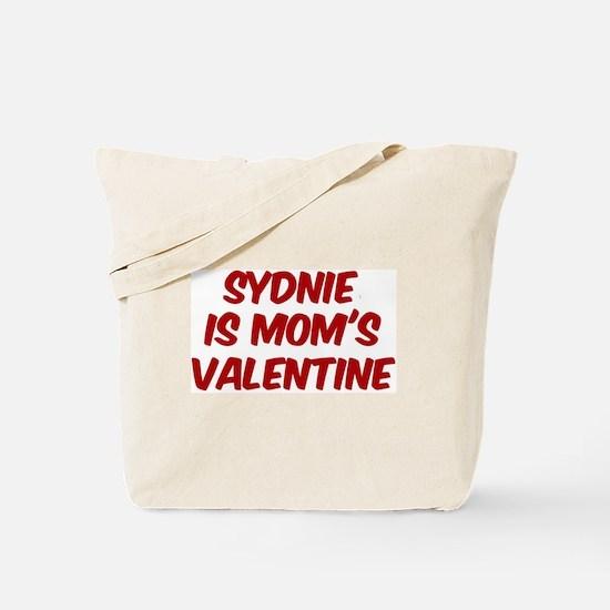 Sydnies is moms valentine Tote Bag