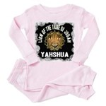 Yahshua Lion Toddler Pink Pajamas