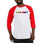 Rainbow GOT ASL? Baseball Jersey