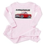 7387logotruck Pink Pajamas