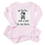yo ho ho and a poo in me bum Toddler T-Shir