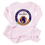 USS KASKAKIA Toddler Pink Pajamas