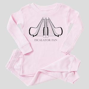 Escalator Toddler Pink Pajamas