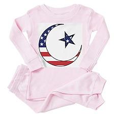American Muslim Toddler Pink Pajamas