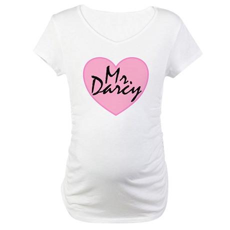 I Heart Mr. Darcy Maternity T-Shirt
