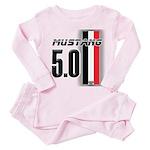 Mustang 5.0 BWR Toddler Pink Pajamas