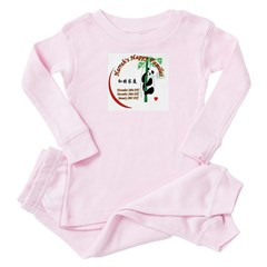 Harrah's Happy Families Toddler Pink Pajamas
