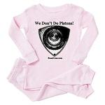 We Don't Do Pistons! - Toddler Pink Pajamas