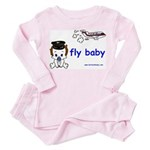 2-baby pilot with text Pink Pajamas