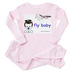 2-baby pilot with text Pink Pajamas