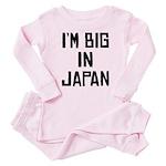 I'M BIG IN JAPAN - Baby/Toddler Pink Pajamas