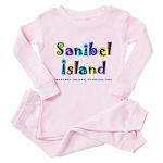 Sanibel Type - Toddler Pink Pajamas